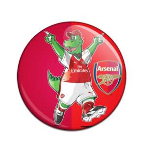 Arsenal Button Badge GS