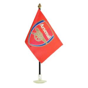 Arsenal Car Flag CR