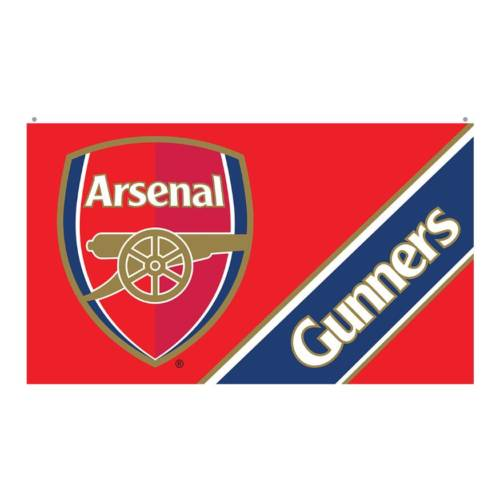 Arsenal Flag BW