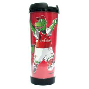 Arsenal Double Wall Plastic Bottle/Mug GS