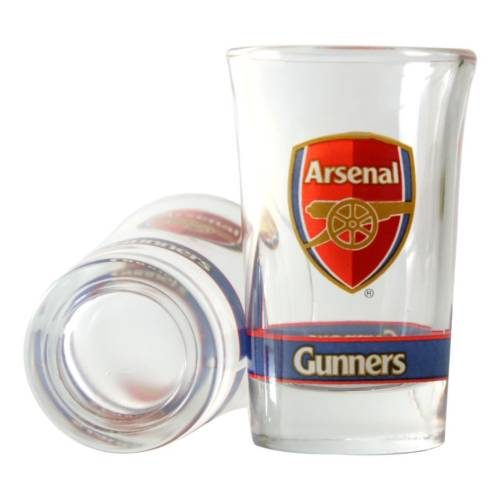 Arsenal 2pk Shot Glass Set CR