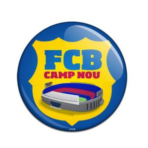 F.C. Barcelona Button Badge CN