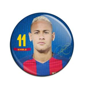 F.C. Barcelona Button Badge Neymar JR