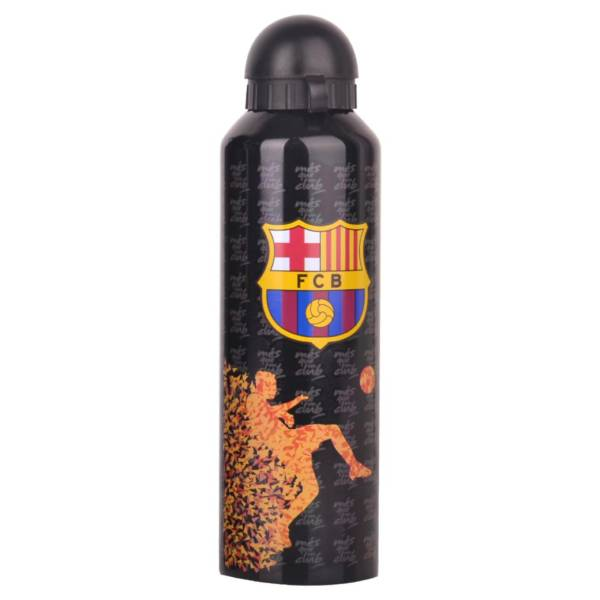 F.C. Barcelona Stainless Steel Drinks Bottle BLK ST