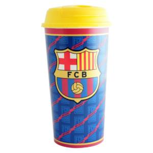 F.C. Barcelona Travel Plastic Bottle/Mug Crest