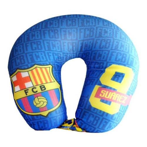 F.C. Barcelona Neck Cushion/Travel Pillow Suarez No. 9
