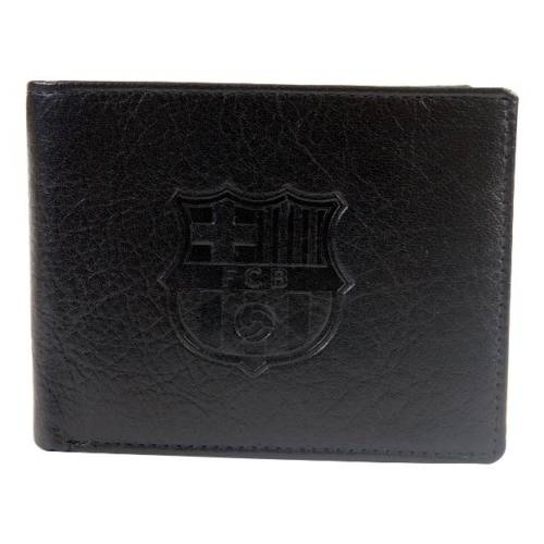 F.C. Barcelona Embossed Leather Wallet