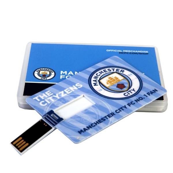 Manchester City F.C. No.1 Fan Card Pendrive 8GB