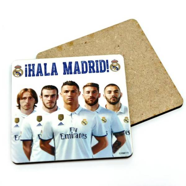Real Madrid C.F. Coaster Players