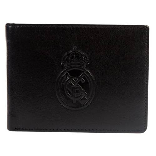 Real Madrid C.F. Embossed Leather Wallet
