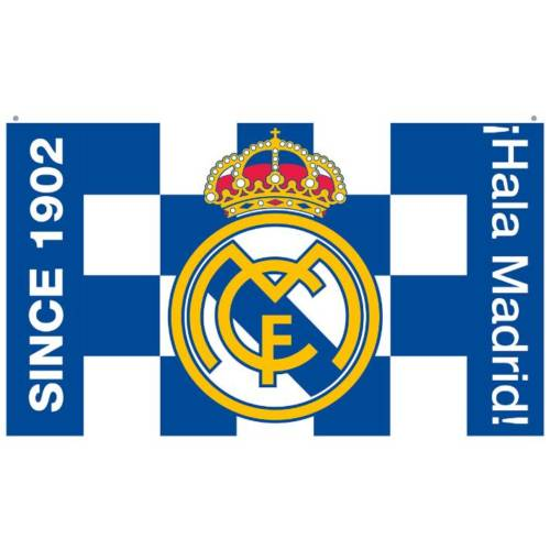 Real Madrid C.F. Flag BW