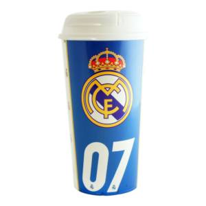 Real Madrid C.F. Travel Plastic Bottle/Mug CR 7