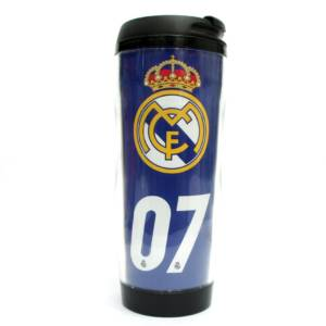 Real Madrid C.F. Double Wall Plastic Bottle/Mug CR 7