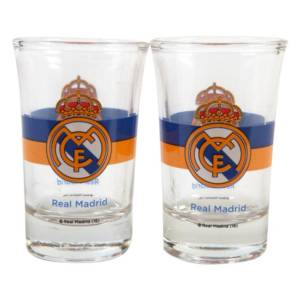 Real Madrid C.F. 2pk Shot Glass Set CR