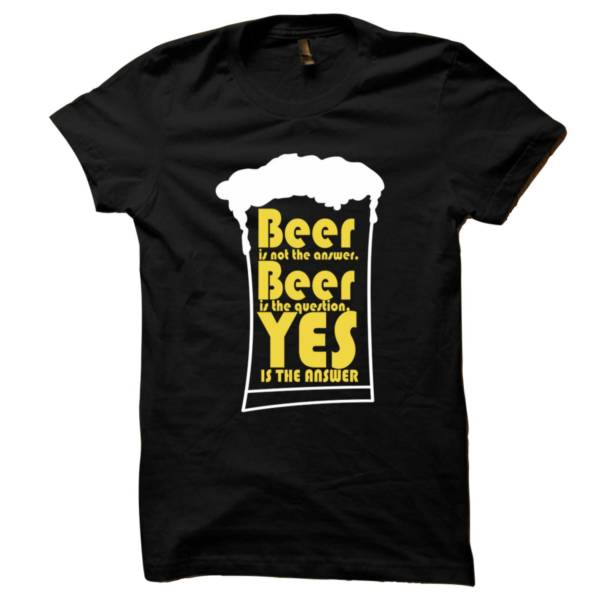 Beer Answer Tshirt