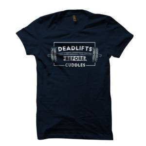 Deadlifts Gym Tshirt