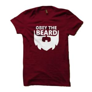 Obey the Beard Tshirt