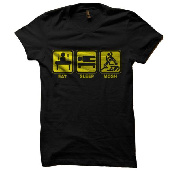 Eat Sleep Mosh Repeat Tshirt